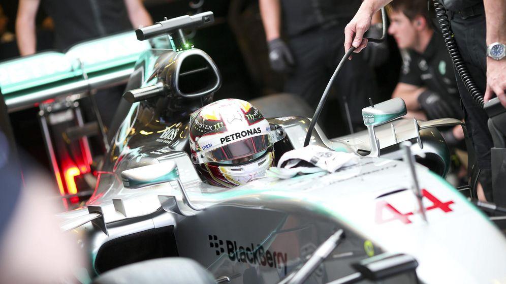 Foto: Lewis Hamilton y su Mercedes durante la pasada temporada.