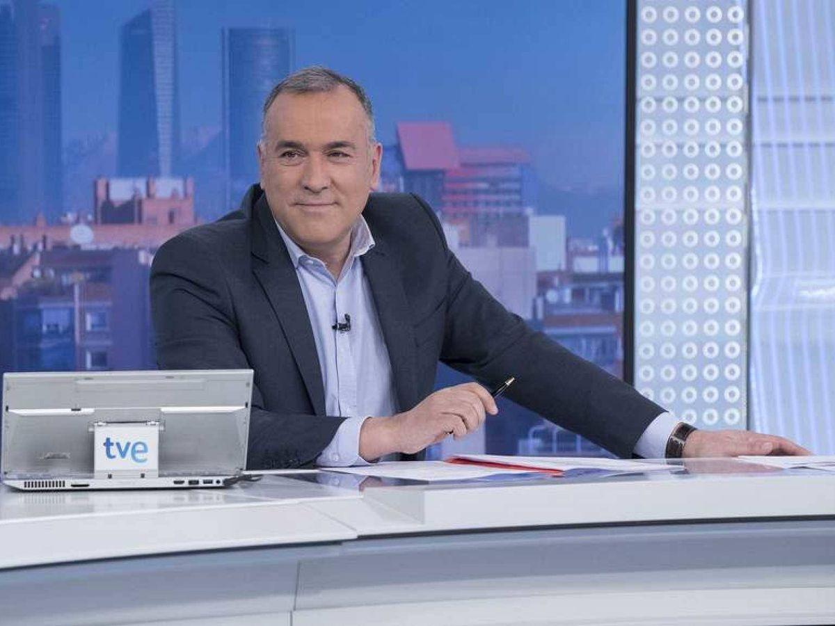 Foto: El periodista Xabier Fortes. (TVE)