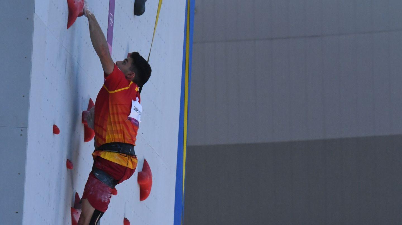 Alberto Ginés en acción. (Reuters)