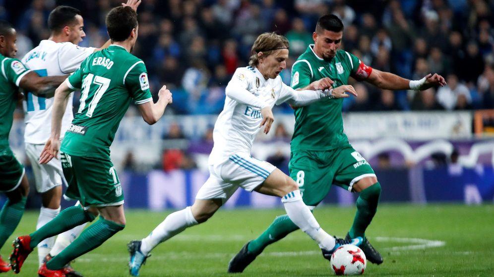 Foto: La temporada pasada, el Leganés eliminó al Real Madrid en la Copa del Rey. (EFE)