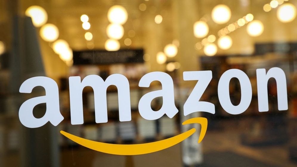 Foto: Logo de Amazon (Reuters)