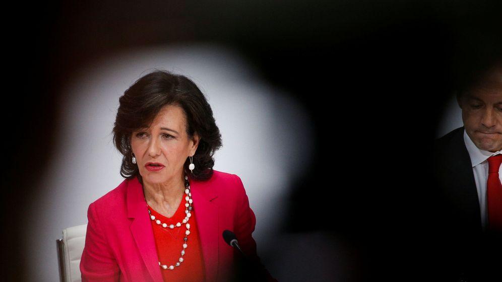 Foto: Ana Botín, presidenta de Banco Santander.