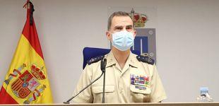 Post de Felipe VI se salta el protocolo y sorprende a un militar: