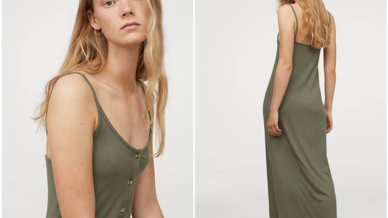 Nuevo vestido básico de HyM. (Cortesía)