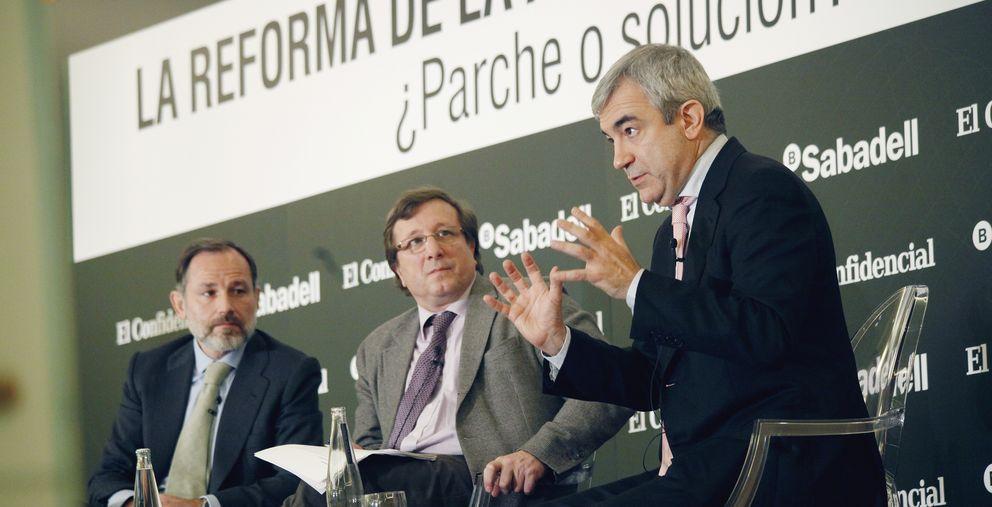 Foto: Jaime Pérez Renovales (izq), subsecretario de la Presidencia; y Luis Garicano (derecha), profesor de la London School of Economics (E.V.)