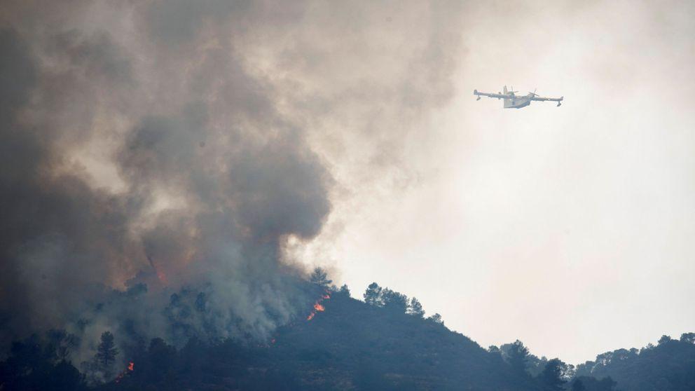 Extinguido el incendio de Perelló (Tarragona) tras quemar 233 hectáreas de bosque