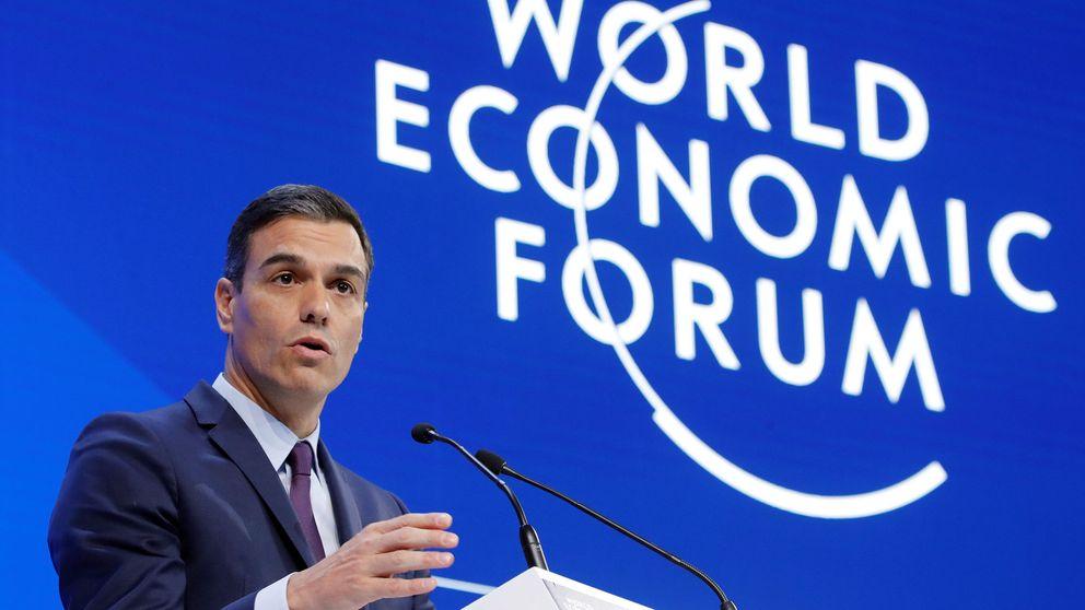 Sánchez se reúne con los directivos de ArcelorMittal y Microsoft en Davos