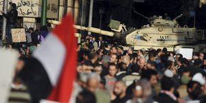 """El Ejército egipcio no actuará contra la población: """"Sus demandas son legítimas"""""""