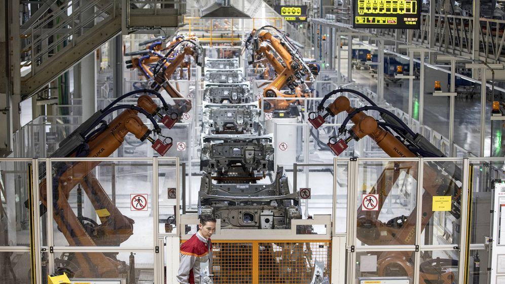 Foto: La fábrica de Seat en Martorell fue la primera en paralizar su producción por falta de componentes.