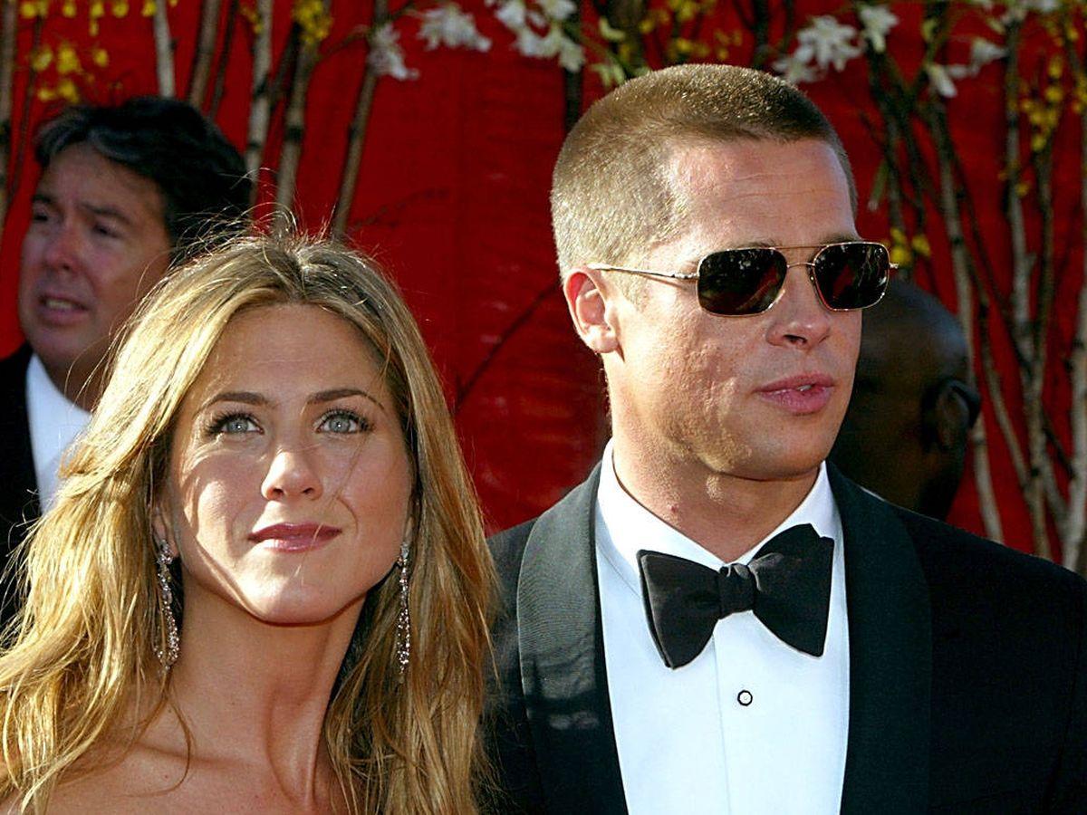 Foto: Jennifer Aniston y Brad Pitt, en una imagen de 2004. (Getty)
