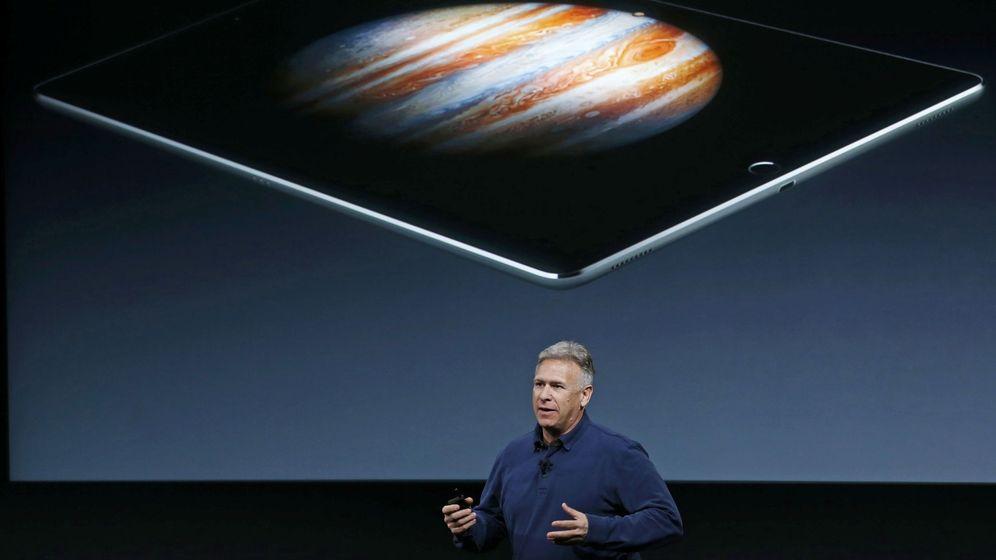 Foto: Phil Shiller durante la 'keynote' de Apple