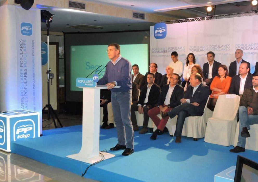 Foto: Acto de presentación de José Alberto Armijo como candidato a la Alcaldía de Nerja. (Populares de Nerja)