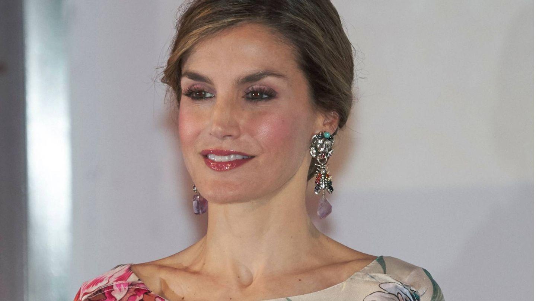 Doña Letizia, en los Premios Nacionales de la Moda de 2016. (Getty)