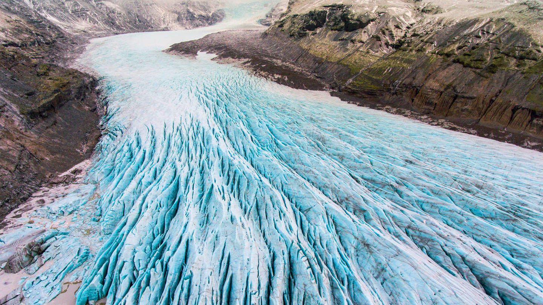 Uno de los enormes glaciales de Islandia. (iStock)