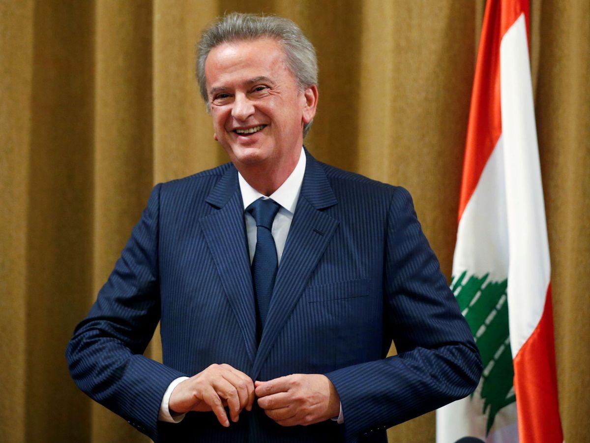 Foto: El gobernador del Banco Central libanés, Riad Salamé. (Reuters)