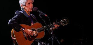 Post de Joan Báez se baja del escenario: