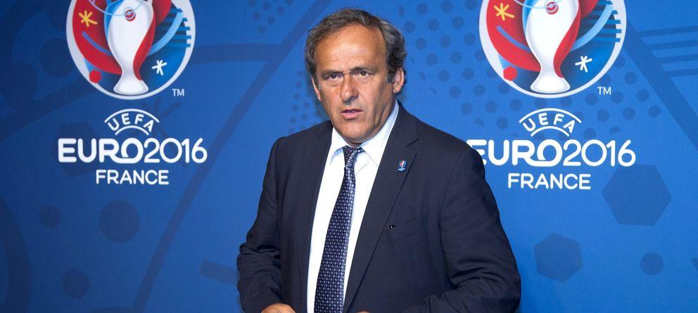 Foto: El presidente de la UEFA, Michel Platini, en una imagen de archivo (Efe).