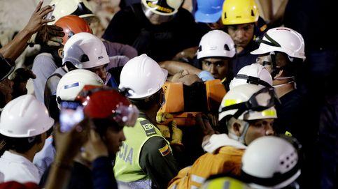 Cinco muertos en el derrumbe de un edificio en Colombia