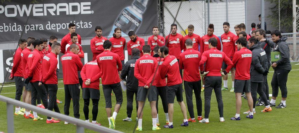 'Mens sana in corpore sano' en el Atlético para llegar como un tiro al clímax del curso