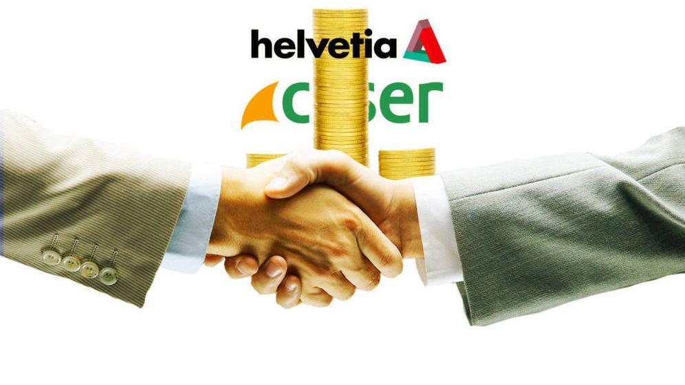 Foto: Helvetia ganó la puja por Caser.
