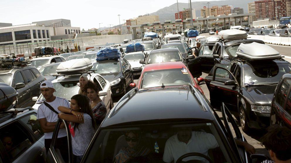 Algeciras recibe 4.000 vehículos en 12 horas de fase punta de la OPE