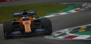 Post de Carlos Sainz, con la cabeza sobre los hombros en el esperpento final de Monza