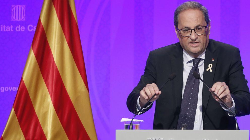 Torra, año I: su única meta un referéndum e insiste en el relator