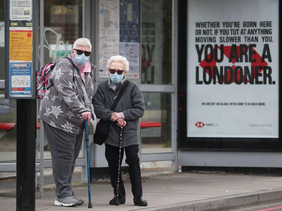 Foto: The spread of the coronavirus disease (covid-19) in london