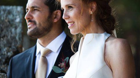 María Castro: las fotos de su boda, su original vestido y los secretos de su look