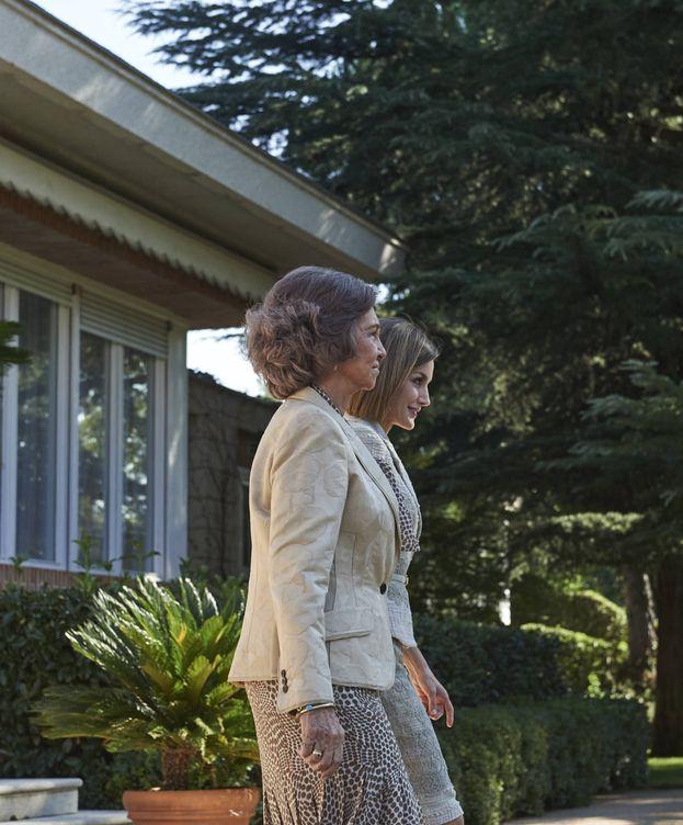 Foto:  Letizia y Sofía, dos reinas que dan que hablar. (Getty9