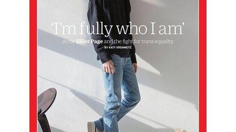 Elliot Page se convierte en el primer hombre trans que protagoniza la portada de 'Time'