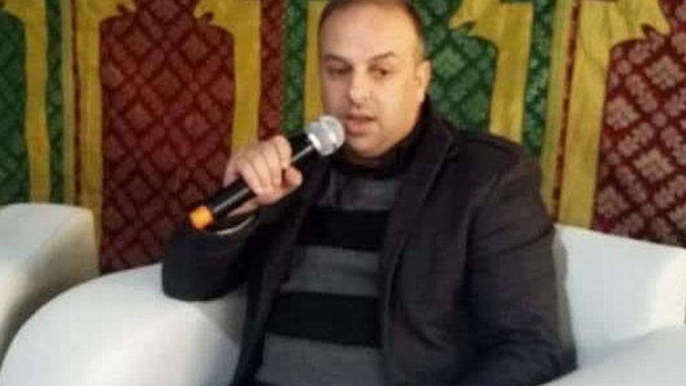Foto: Mohcine Akhrif murió electrocutado tras agarrar el micrófono. (Facebook)