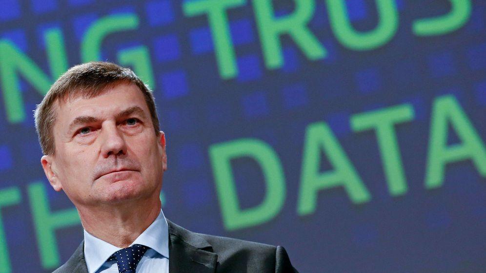 Foto: Andrus Ansip, vicepresidente de la Comisión para el mercado único digital. (Reuters)