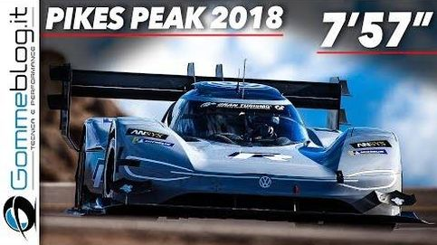 Un Volkswagen eléctrico bate el mítico récord de Pikes Peak