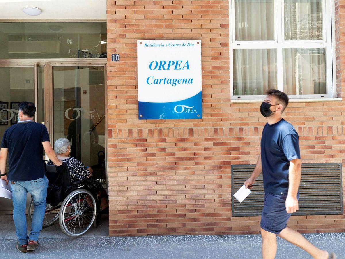 Foto: Una residencia de ancianos en Cartagena. (EFE)
