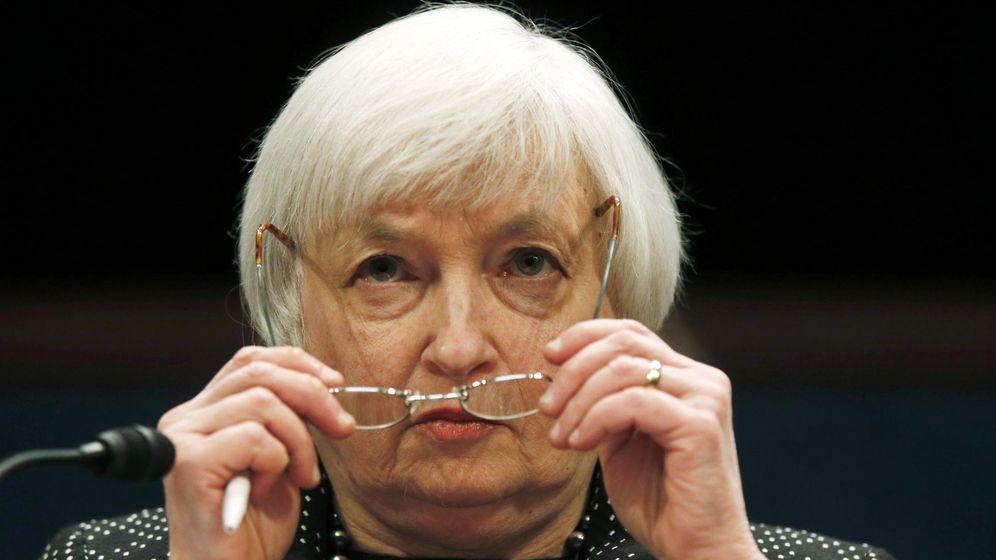 Foto: La presidenta de la Fed, Janet Yellen