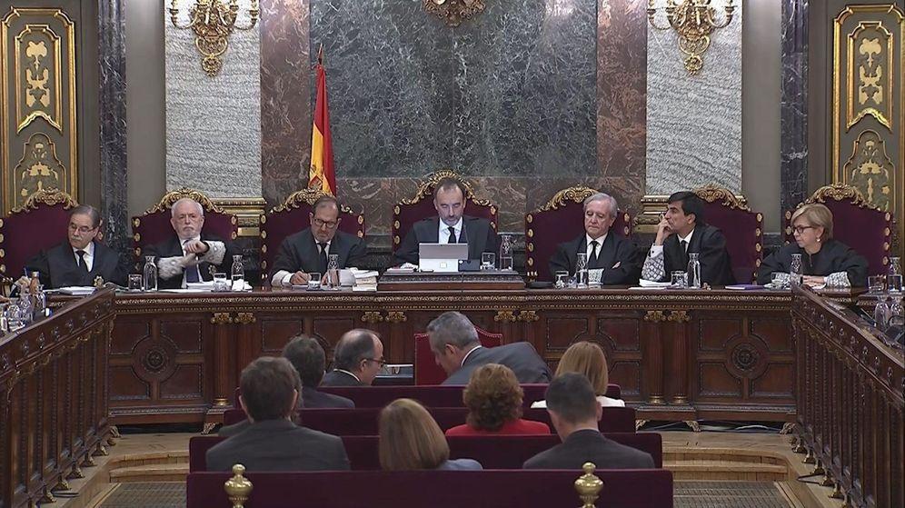 Foto: Penúltima sesión del juicio del procés. (Efe)