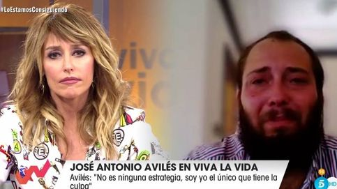 José Antonio Avilés se derrumba con Emma García