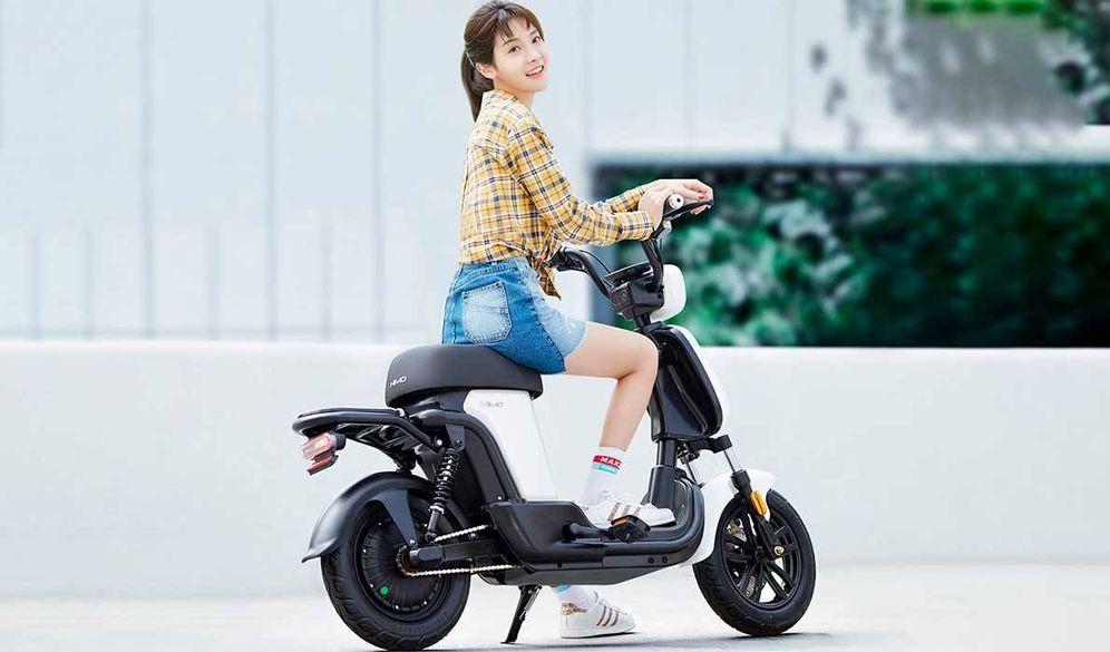 Foto: La 'motocleta' Xiaomi HIMO T1. (Foto: Xiaomi)