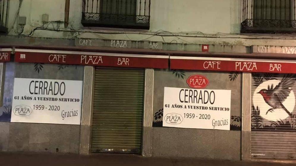 Foto: Bar Plaza, en Getafe.