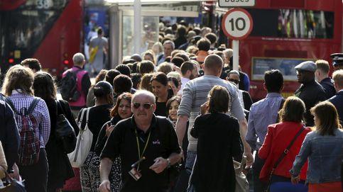 En imágenes: Caos en Londres por la huelga de los trabajadores del metro