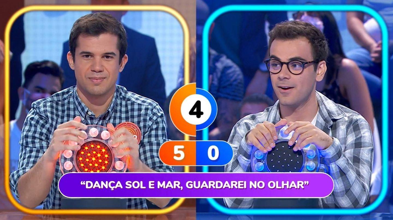 Nacho y su rival y compañero Pablo Díaz. (Atresmedia)