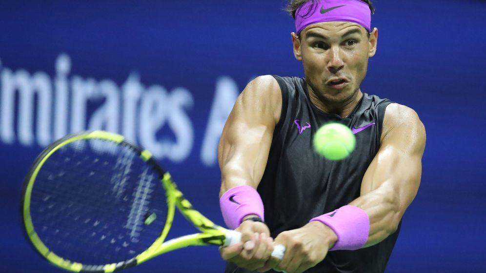 Foto: Rafa Nadal juega este sábado en la tercera ronda del US Open. (EFE)