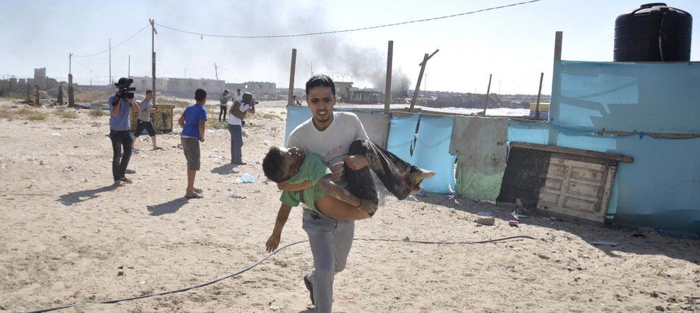 Foto: Asesinato de niños en una playa de Gaza