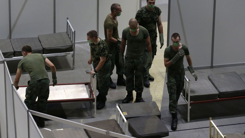 Serbia declara el toque de queda en Belgrado ante la situación alarmante por el covid-19