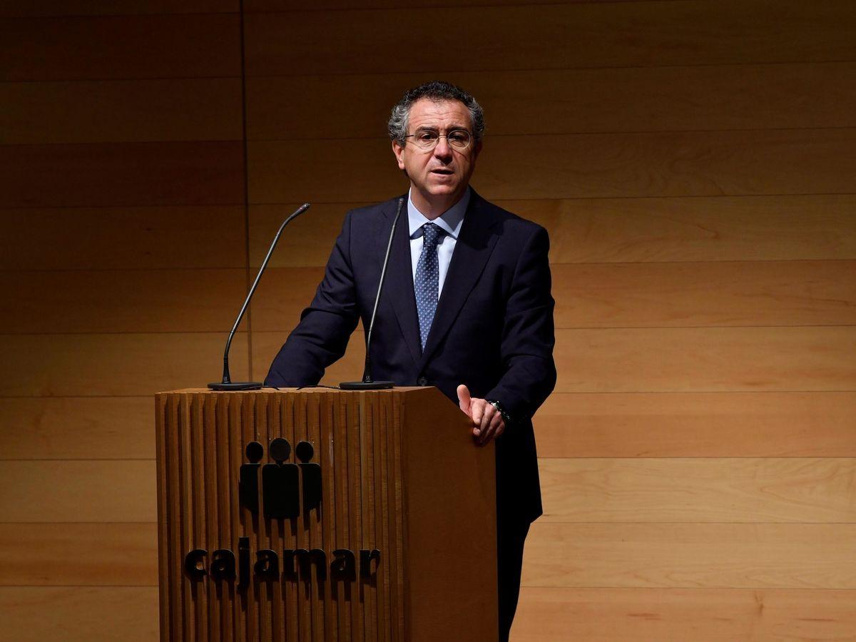 Foto: Eduardo Baamonde, presidente de Cajamar. (EFE)