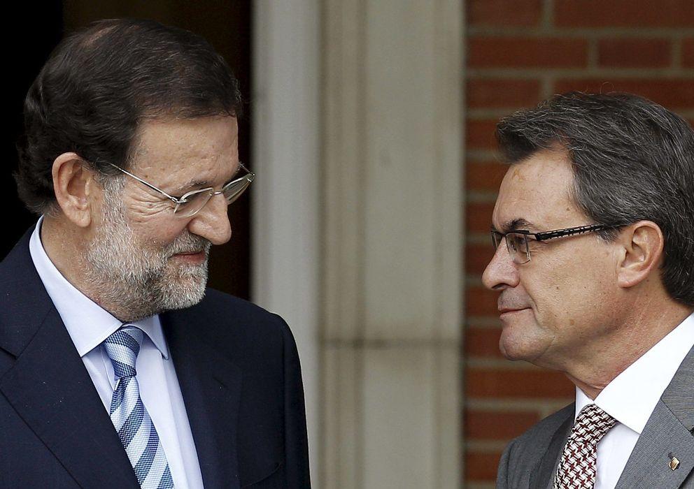 Foto: Mariano Rajoy y Artur Mas en una foto de archivo. (Efe)