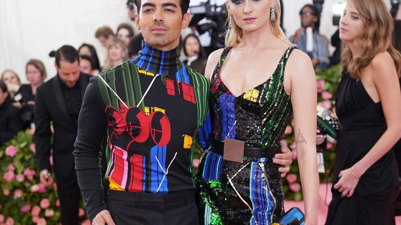 Joe Jonas y Sophie Turner. (Cordon Press)