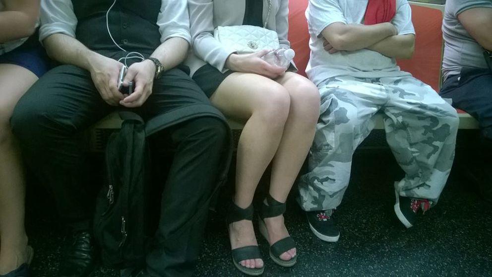 Cómo acabar con los maleducados que te quitan tu espacio en el metro