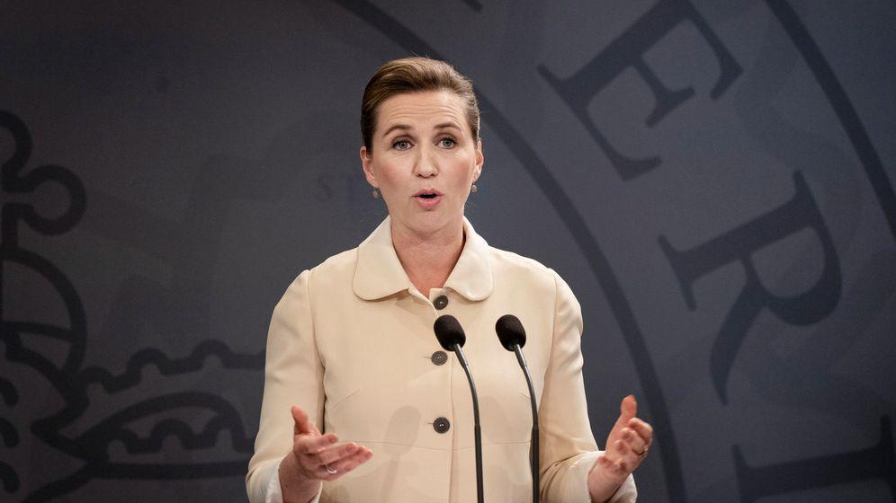 Foto: La primera ministra danesa, Mette Drederiksen. (Reuters)